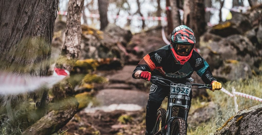 The brother-and-sister world mountain bike champions... Now that's ...