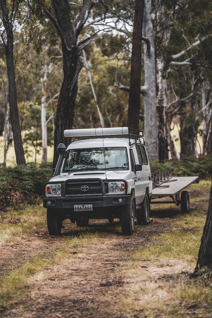 Troopy at Barjarg