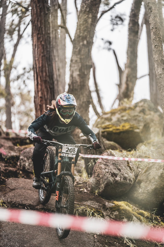Kyleigh Stewart wasn't scared of the rocks this weekend, claiming 3rd place in Elite Women.